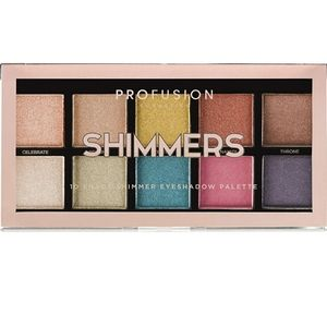 New! Profusion Shimmers 10 Shade Palette